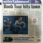 boob tour hits town