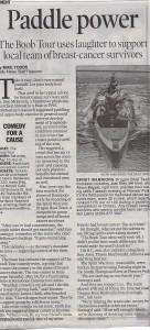 survivor dragon boat fundraiser The Spirit Warriors