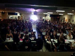 Sold out show in Edson Alberta