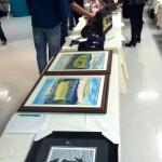 huge silent auction in Whitecourt