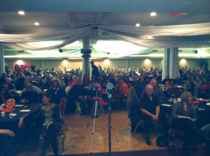 over 300 people came to the show in Guelph